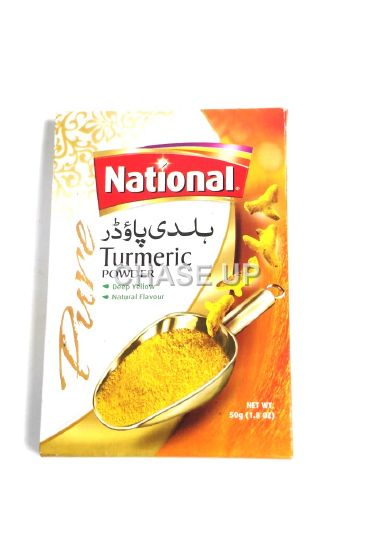 National Turmeric Powder Spices 50gm