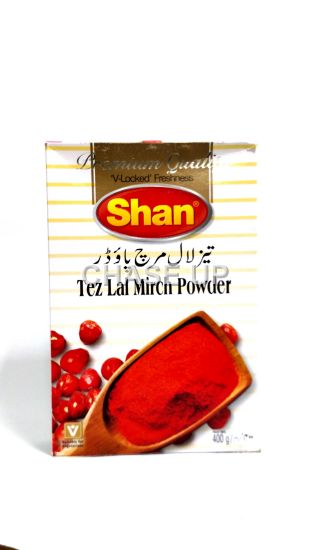 Shan Tez Lal Mirch Powder Spices 400gm