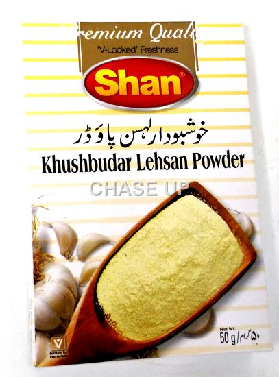 Shan Khushbodar Lahsan Powder Spices 50gm
