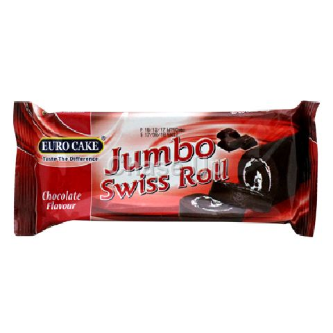 Euro Cake Jumbo Chocolate Swiss Roll 50gm