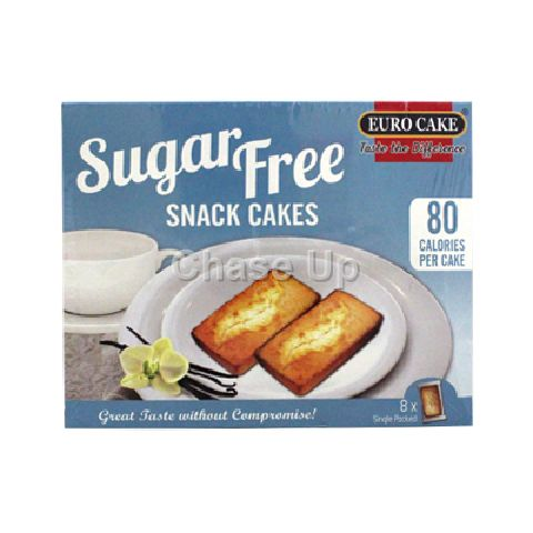 Euro Cake Sugar Free Cake Box 176gm 8pcs
