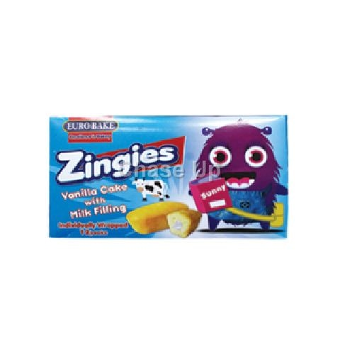 Euro Bake Zingies Cake Box 276gm (12pcs)2+1 Free
