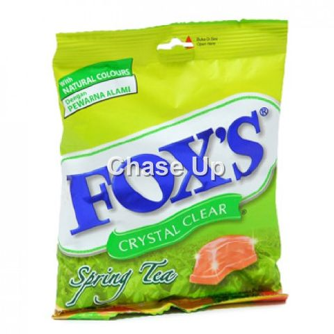 Foxs Spring Tea Candy Pouch 90gm