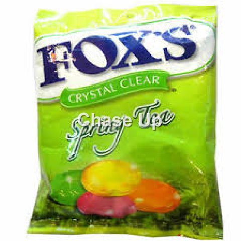 Foxs Spring Tea Crystal Clear Candy 125gm