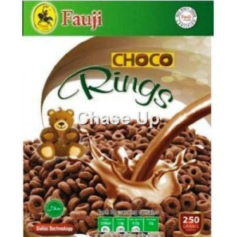 Fauji Chocolate Rings Cereal 250gm
