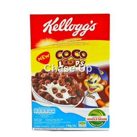 Kelloggs Coco Loops Cereal 170gm