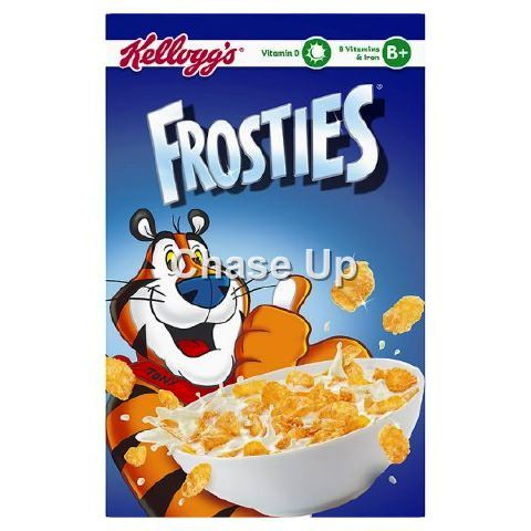 Kelloggs Frosties Cereal Box 175gm