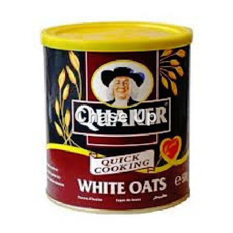 Quaker Brown Oats Porridge Cereal Tin 500gm