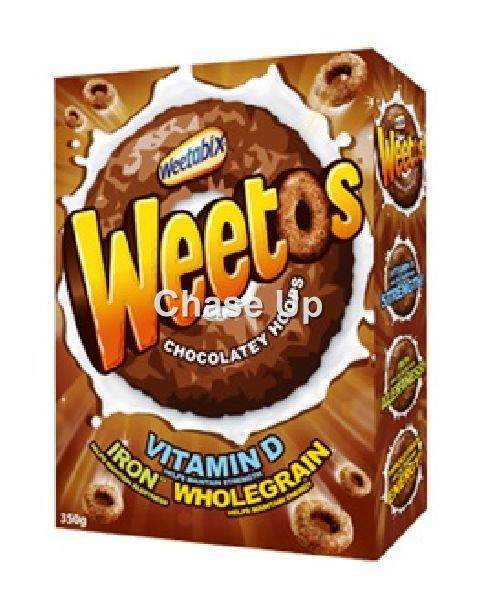 Weetabix Weetos Chocolate Cereal 350gm