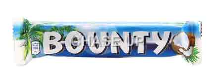 Bounty Chocolate Bar 57gm