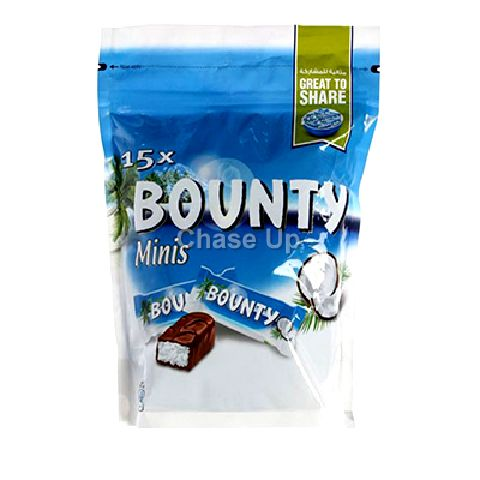 Bounty Minis Chocolate Pouch 428gm IBL