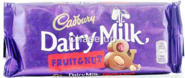 Cadbury Dairy Milk Fruit & Nut Chocolate 200gm Imp