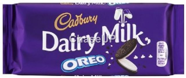 Cadbury Dairy Milk Oreo Chocolate Bar 120gm