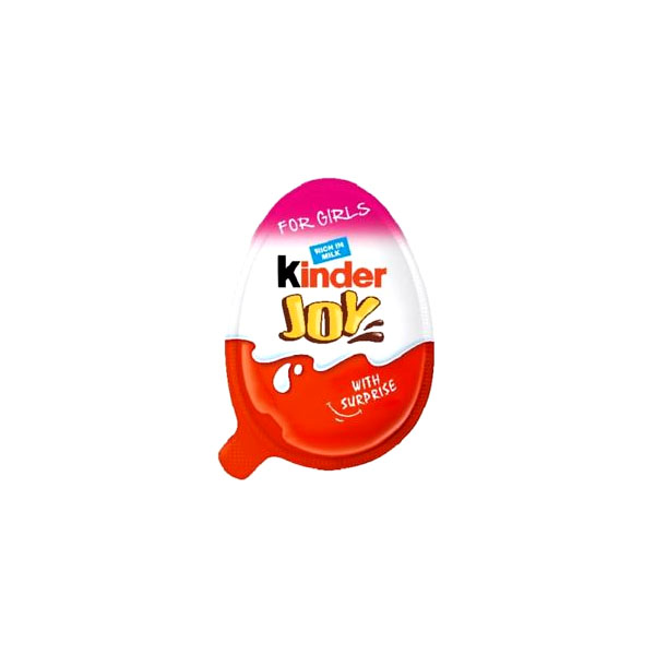 Kinder Joy Eggs Chocolate Girls 20gm Ind