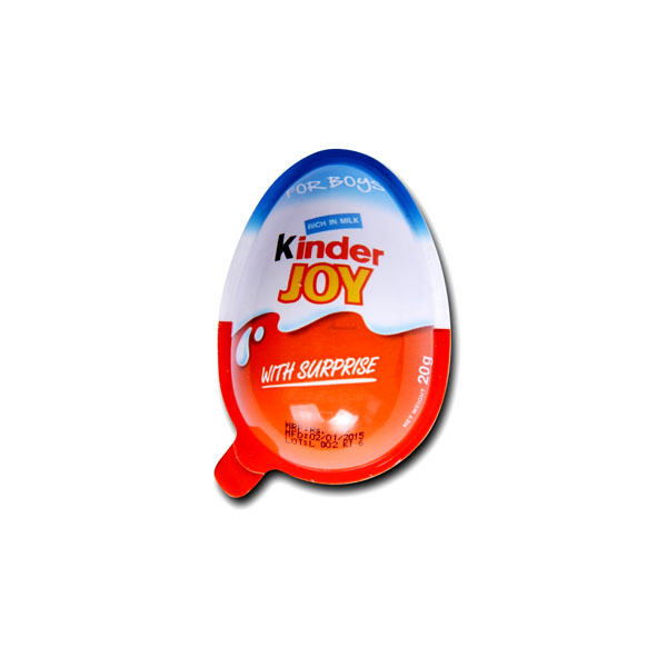 Kinder Joy Eggs Chocolate Boys 20gm Ind