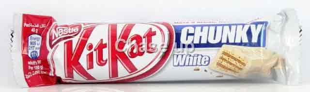 Nestle Kit Kat Chunky White Chocolate 40gm UK