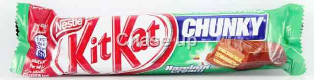 Nestle Kit Kat Chunky Hazelnut Chocolate Bar 42gm