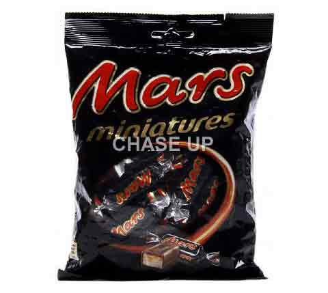 Mars Miniatures Chocolate Pouch 150gm