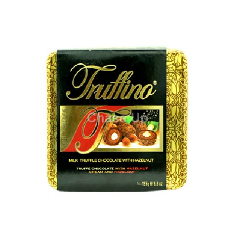 Truffino Milk Chocolate With Hazelnut Tin 155gm