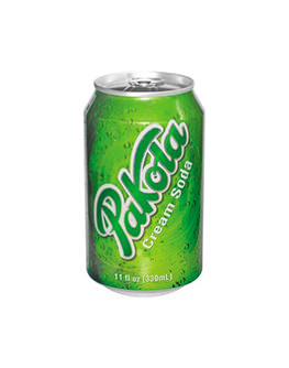 Pakola Ice Cream Soda Soft Drink Can 330ml