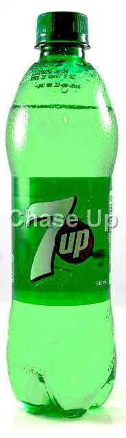 Pepsi 7up Free Soft Drink Pet Bottle 500ml