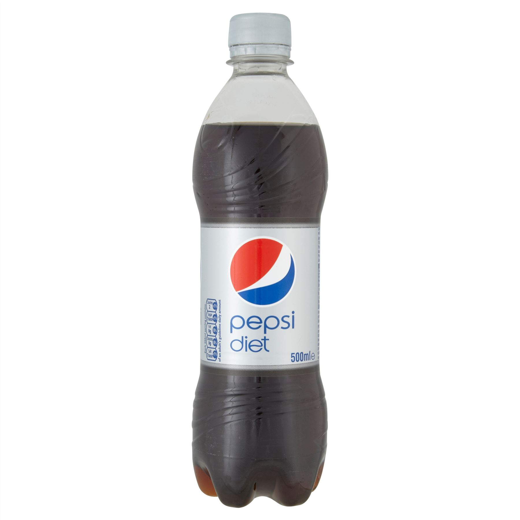 Pepsi Diet Soft Drink Pet Bottle 500ml