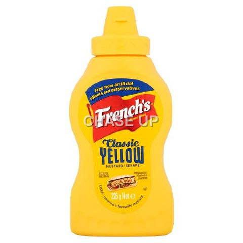 Frenchs Classic Yellow Mustard Paste Pump 226gm