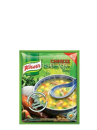 Knorr Chicken & Corn Soup 43gm