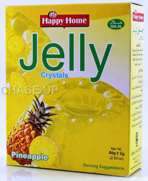 Happy Home Crystal Pineapple Jelly Mix 80gm