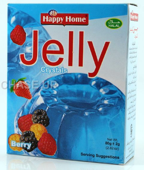 Happy Home Crystal Blue Berry Jelly Mix 80gm