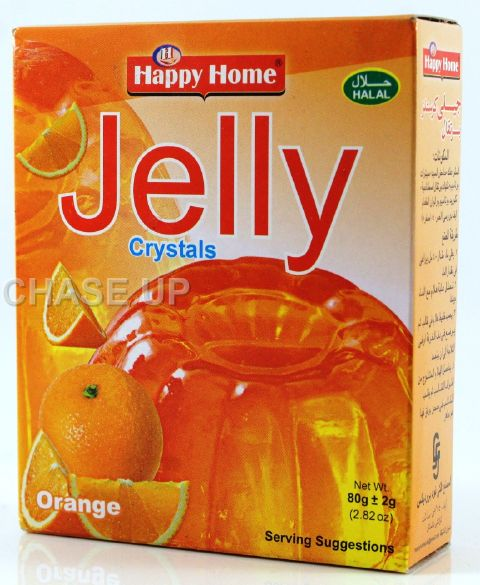 Happy Home Crystal Orange Jelly Mix 80gm