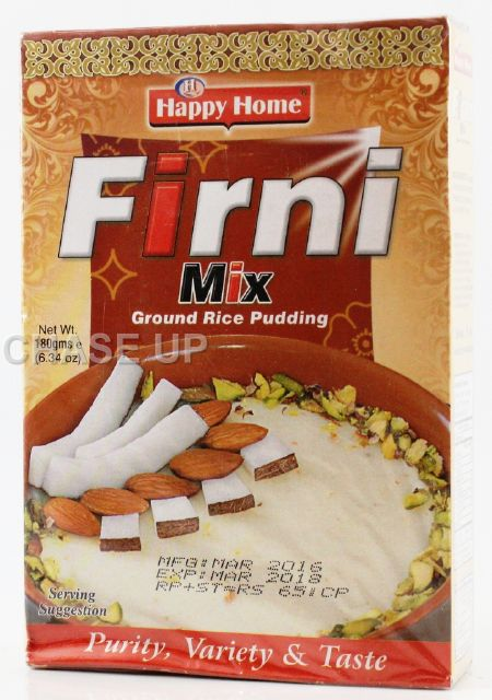 Happy Home Firni Mix 180gm