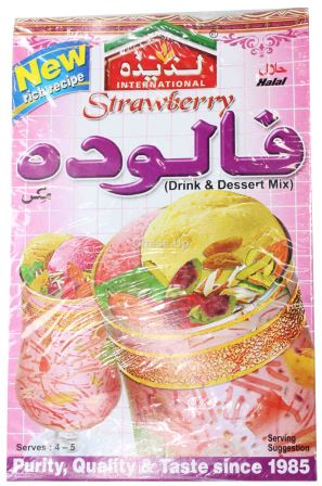 Laziza Strawberry Falooda Dessert Mix 195gm