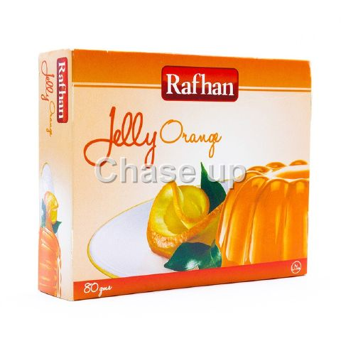 Rafhan Orange Jelly Mix 80gm