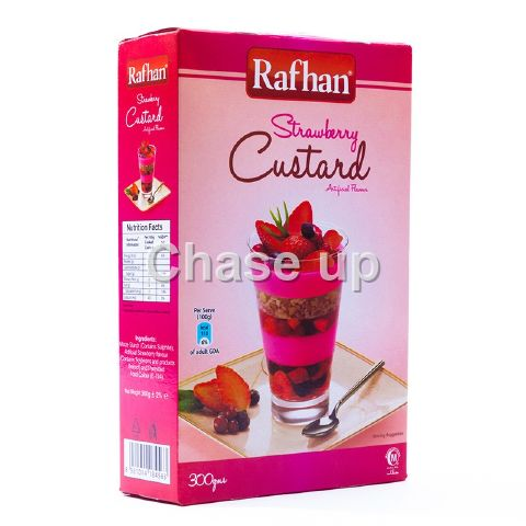 Rafhan Strawberry Custard Powder 300gm