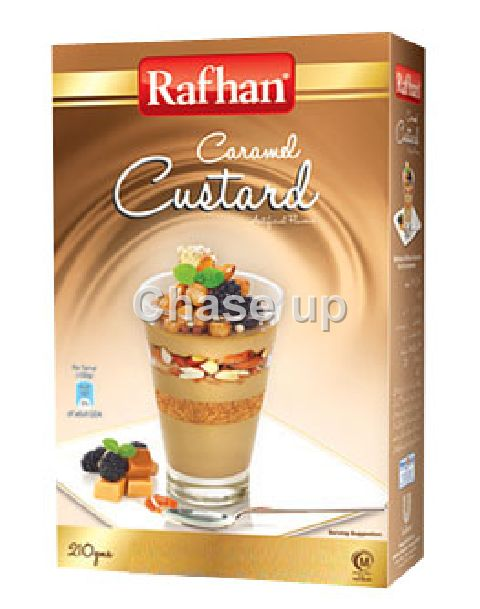 Rafhan Caramel Custard Powder 210gm