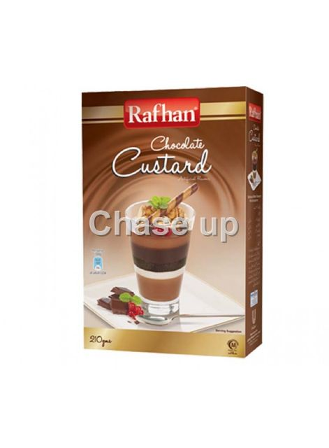 Rafhan Chocolate Custard Powder 210gm