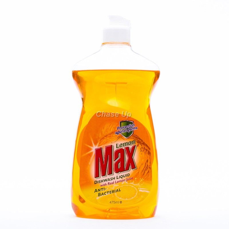 Lemon Max A/B D/W Liquid Bottle 475ml