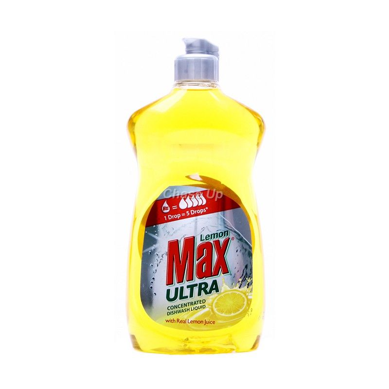 Lemon Max Ultra Yellow D/W Liquid 500ml