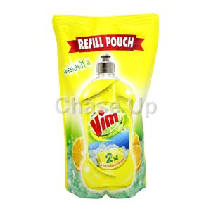 Vim Lemon D/W Liquid Pouch 750ml