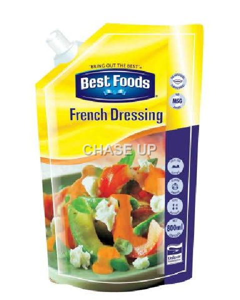 Best Food French Dressing Pouch 800ml