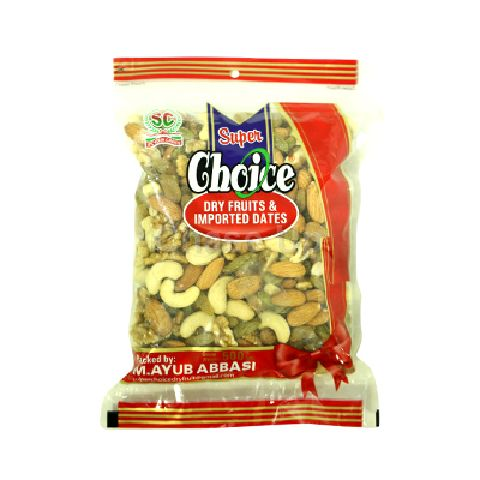 Super Choice Mix Dry Fruit Pouch 500gm