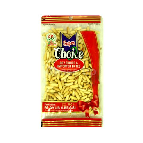 Super Choice Plain Chilghoza 100gm