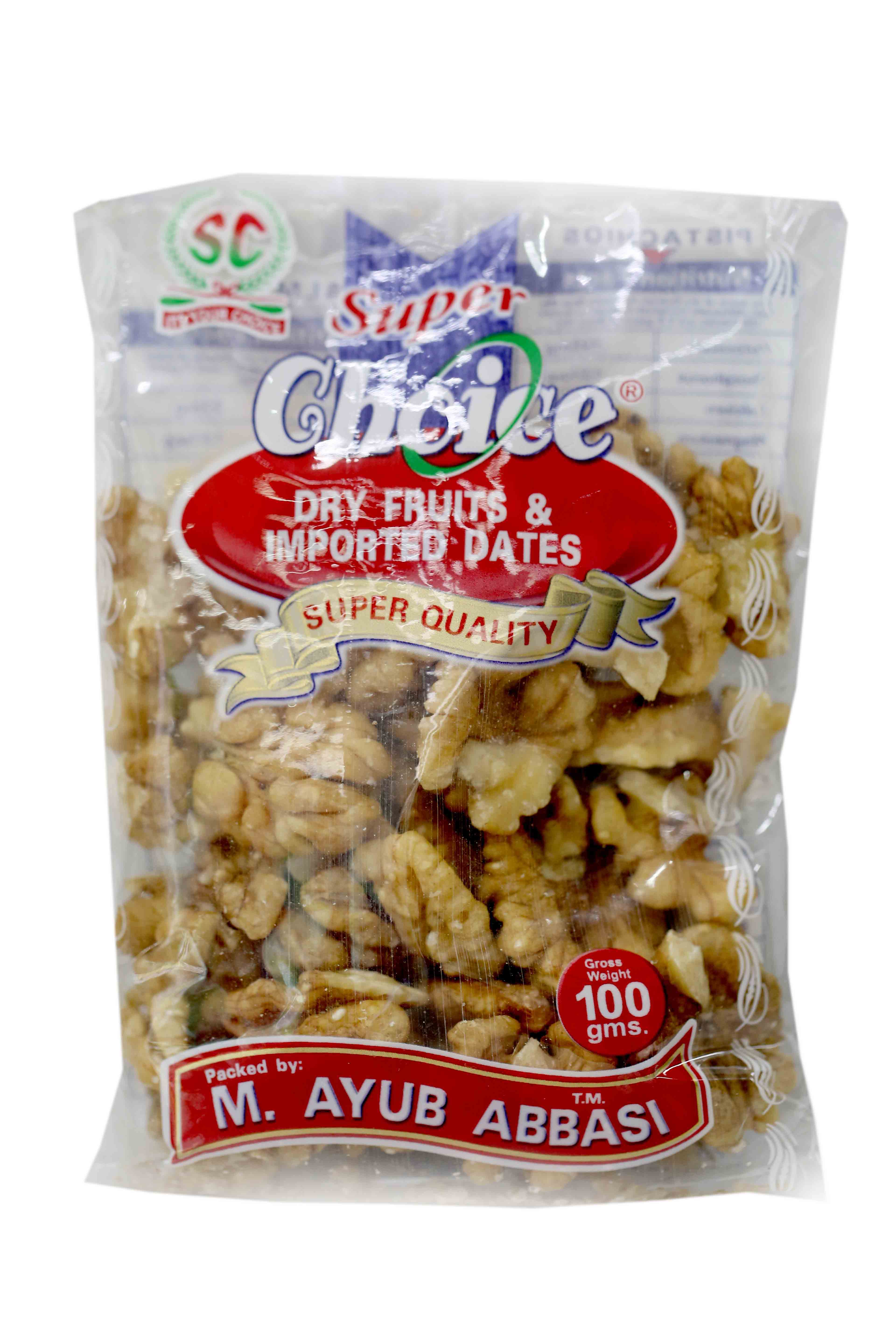 Super Choice Salty Walnut Pouch 100gm