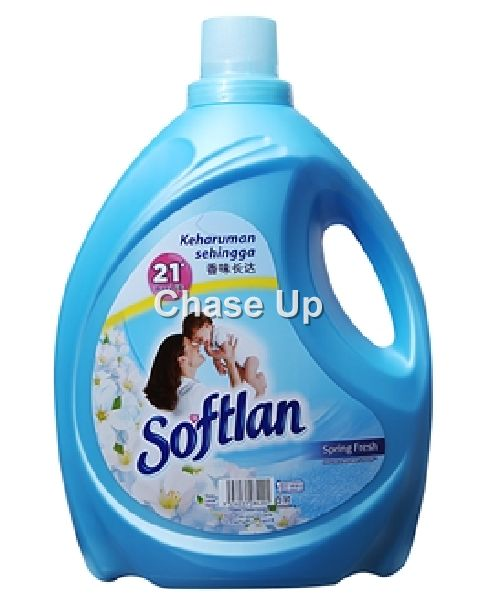 Softlan Blue Fabric Softner Bottle 2ltr