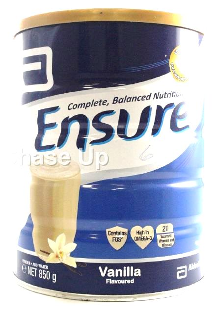 Ensure Vanilla Food Supplement Tin 850gm
