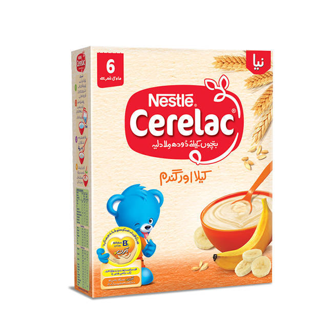 Nestle Cerelac Banana & Wheat Baby Food 175gm