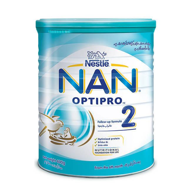 Nestle Nan 2 Protect Start Baby Milk Powder 400gm