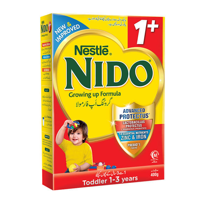 Nestle Nido 1+ Baby Milk Powder Box 400gm