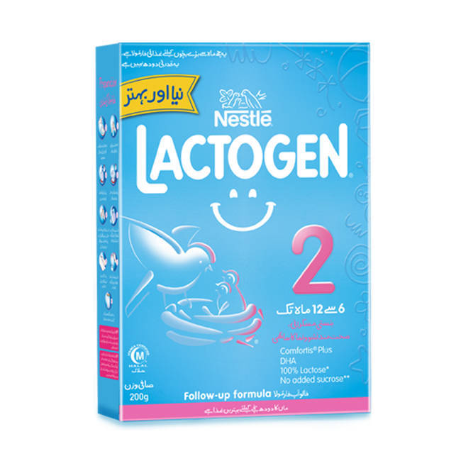 Nestle Lactogen 2 Baby Milk Powder Box 400gm